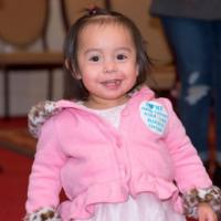 I heart family support centers - smiling little girl
