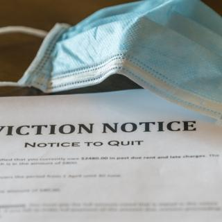 COVID Mask and Eviction Notice